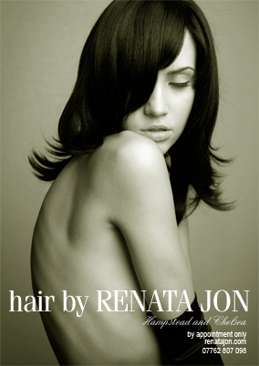 hair by Renata Jon Chelsea magazine cover
